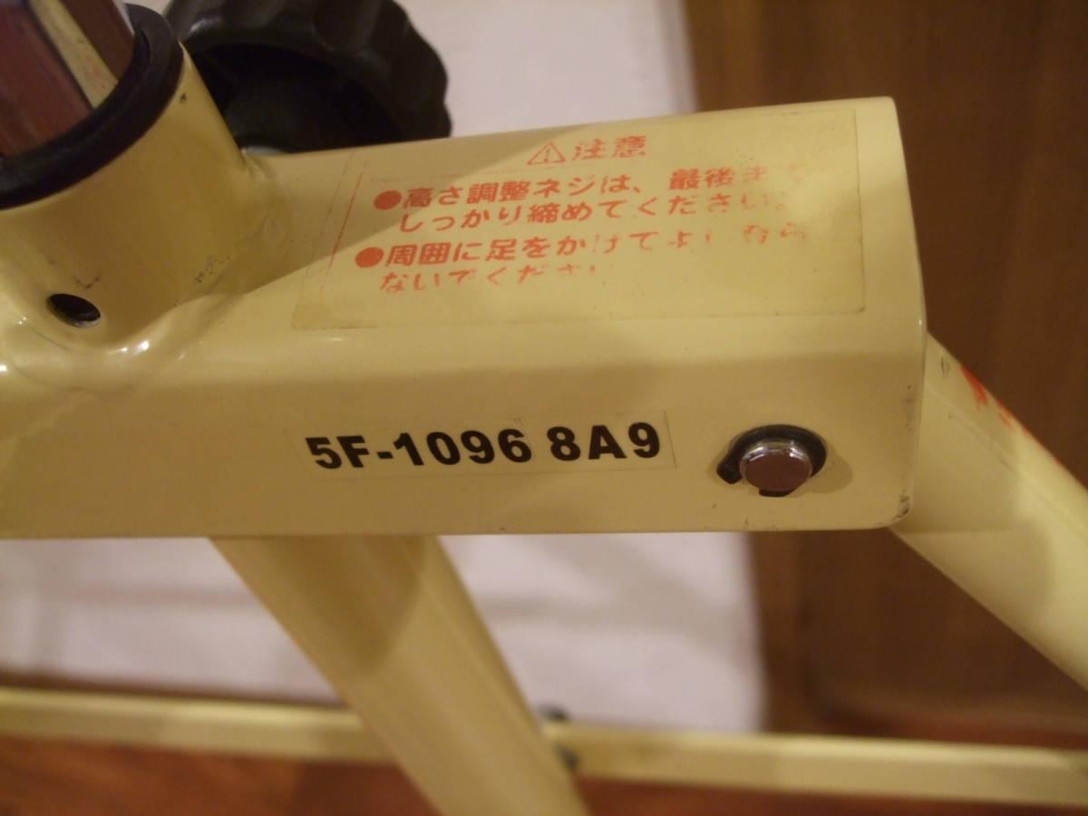 USED 折りたたみ式  鉄棒_画像2