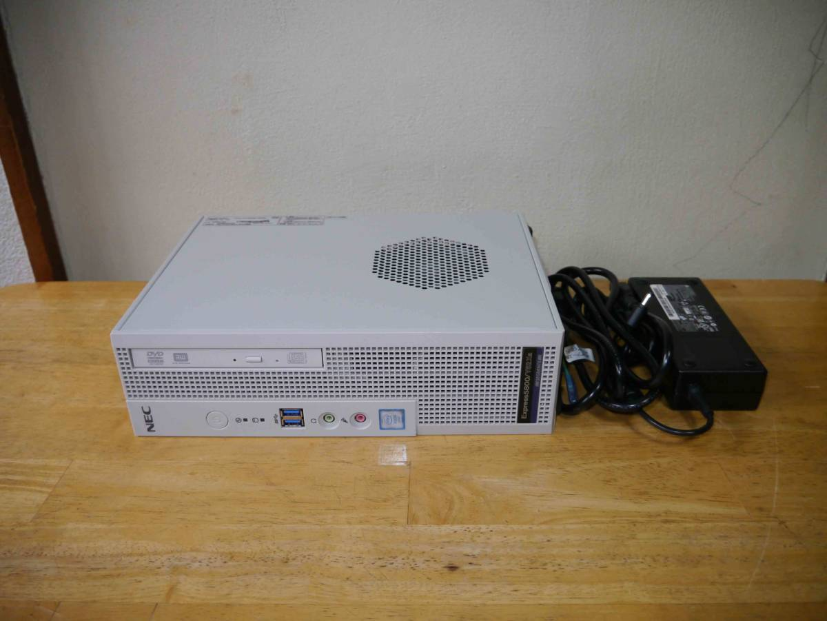 ★NEC Express5800 Y52Xa(Xeon E3-1225v3 (4コア/4スレッド)3.20GHz 4GB 500GBx2 Win10Pro)★