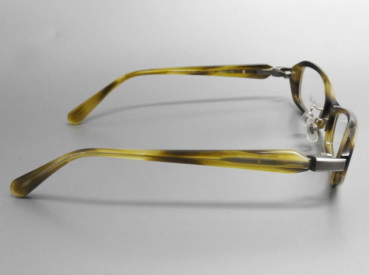 展示美品 SEIKO VERUS メガネフレーム グリーン フルリム めがね 眼鏡 伊達メガネ おしゃれ メンズ レディース セルフレーム チタン /4713_画像4