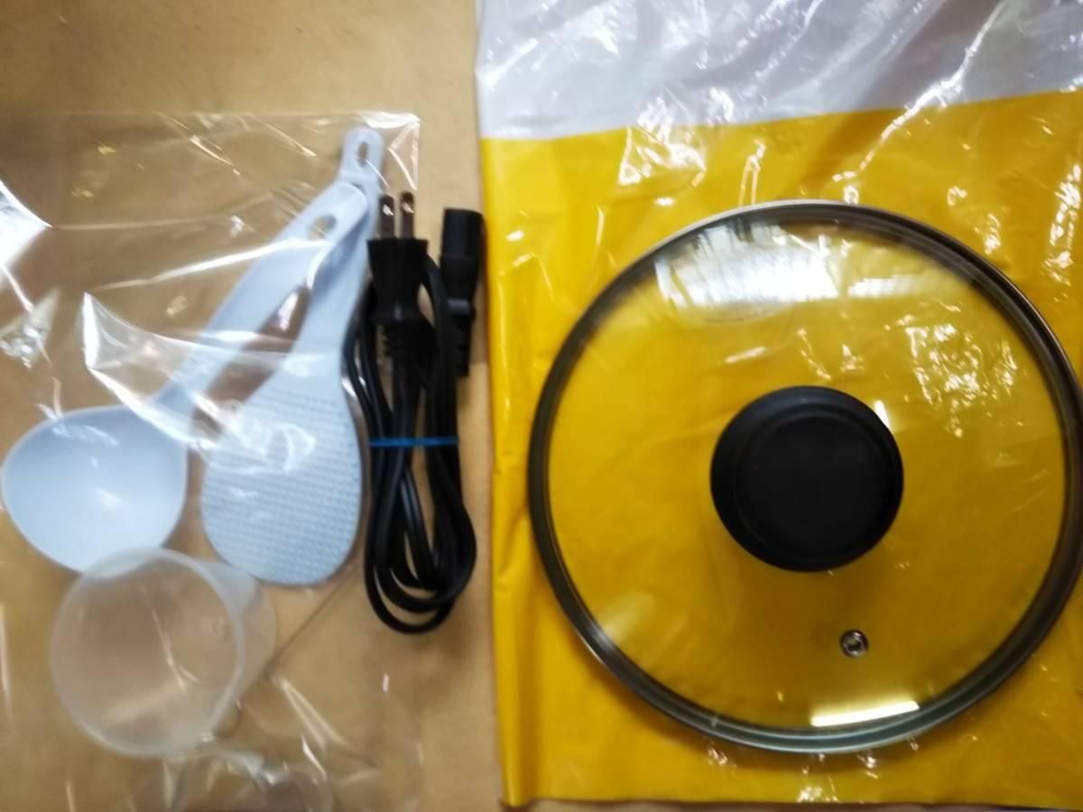 ワンダーシェフ 家庭用電気圧力鍋 4L GEDA40 T04 2016年製 ほぼ未使用品 _画像5