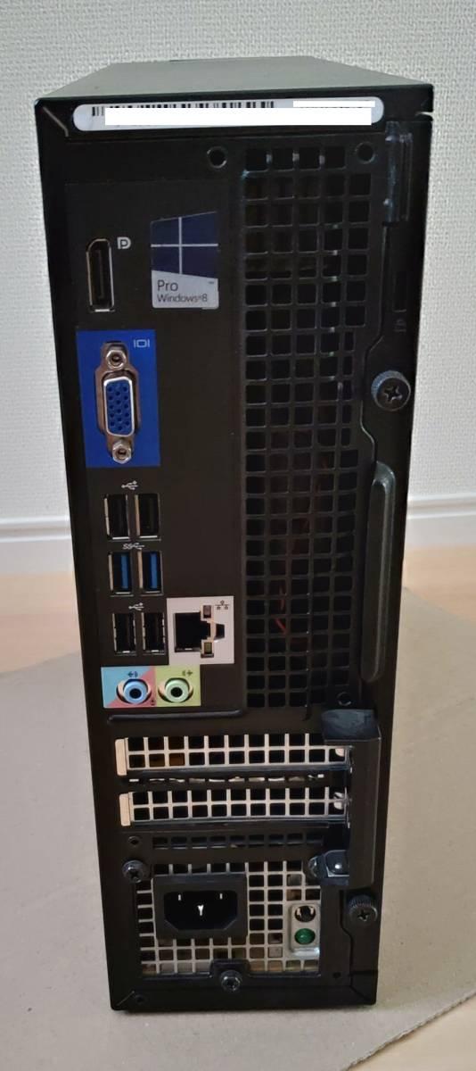 ★ DELL OptiPlex 3020 SFF / Core i5 4570 3.2GHz / HDD500GB / メモリ8GB / Win10 Pro ★_画像4