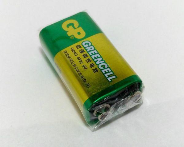 アルカリ 乾電池 9V形 006P 四角電池 ラジコンなど