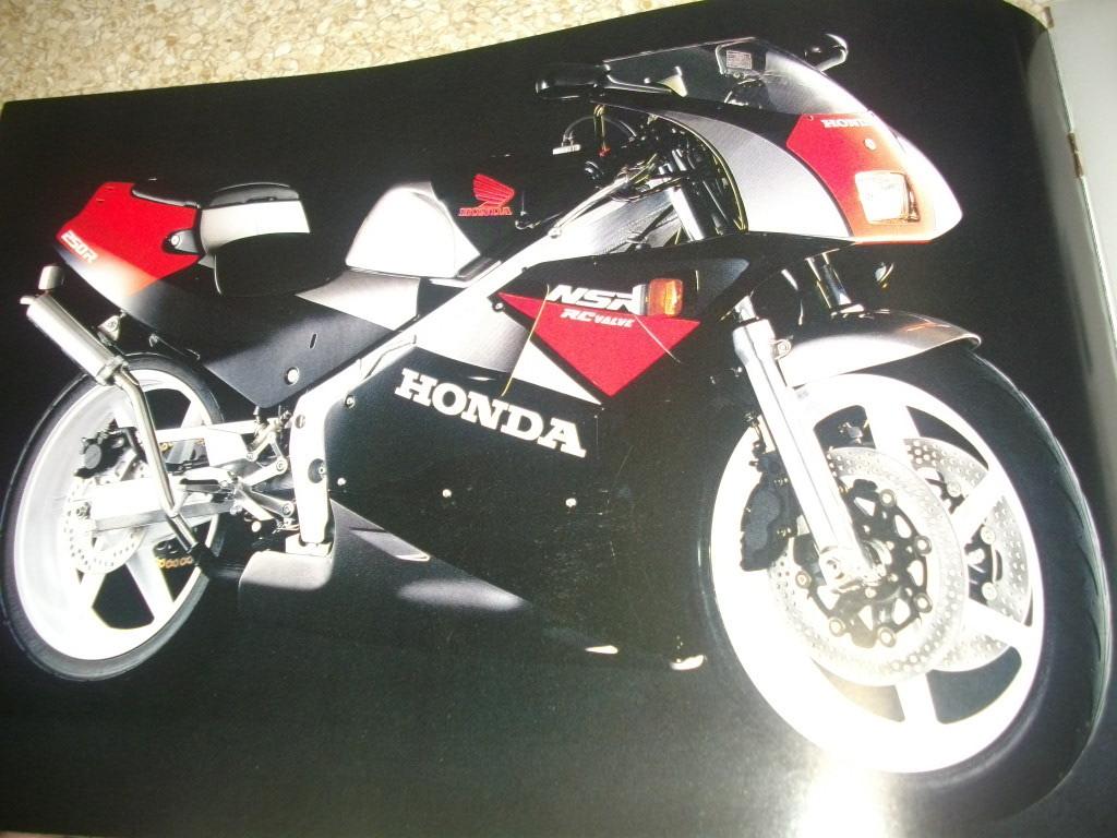 ホンダ NSR250R カタログ 中期2代目 MC18 10ページ 1987年発売 32年前 送料185円 _画像2