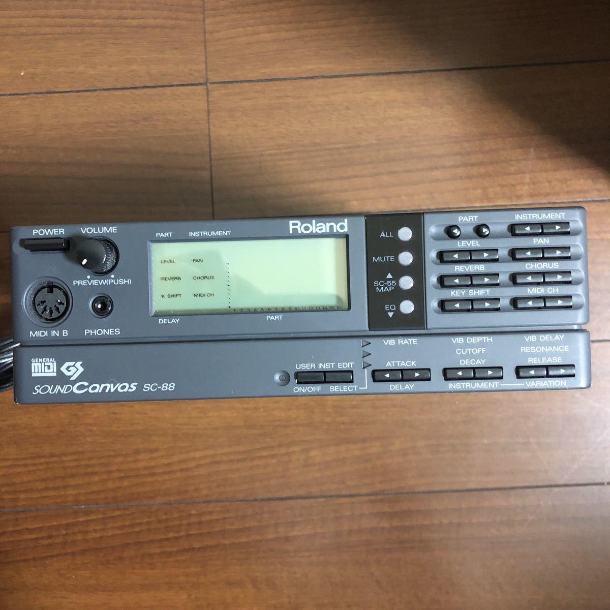 Roland SC-88 MIDI音源_画像4