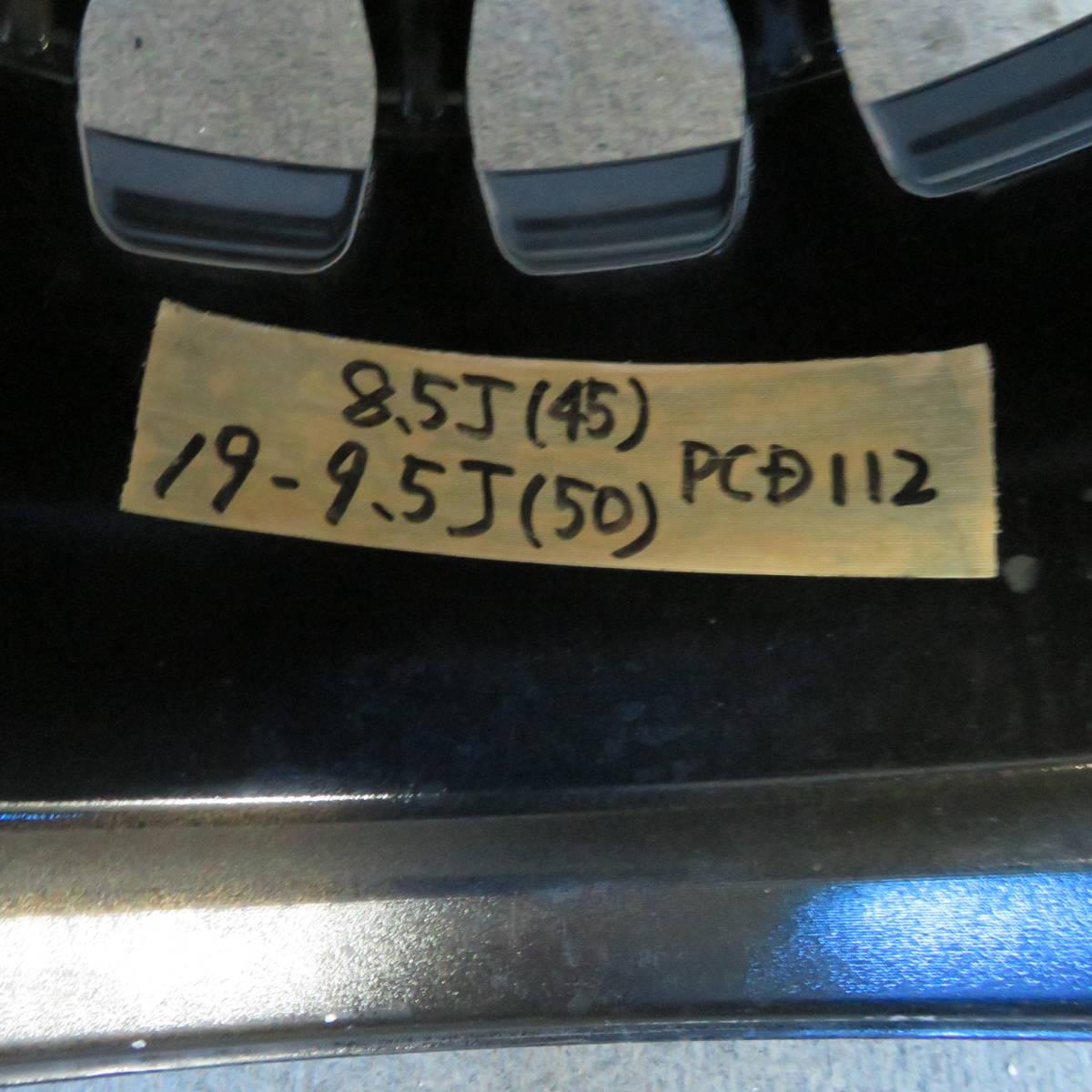Carlsson RS 19インチ 8.5/9.5J+45/50  5H-112  4本 _画像10