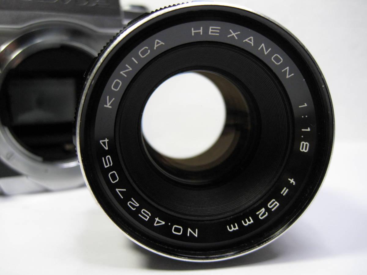 HEXANON 52mm 1:1.8です