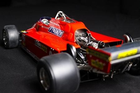 ★ MFH 1/12 フェラーリ 126CK.ジル・ヴィルヌーヴ  モナコGP 完成品 ★_画像2