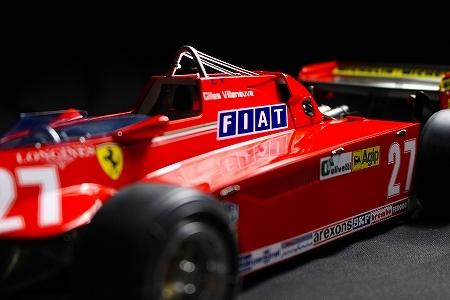 ★ MFH 1/12 フェラーリ 126CK.ジル・ヴィルヌーヴ  モナコGP 完成品 ★_画像4