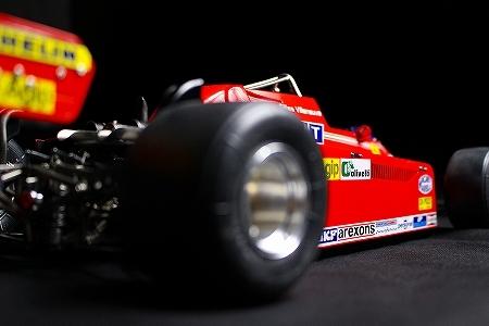★ MFH 1/12 フェラーリ 126CK.ジル・ヴィルヌーヴ  モナコGP 完成品 ★_画像5
