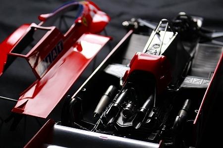 ★ MFH 1/12 フェラーリ 126CK.ジル・ヴィルヌーヴ  モナコGP 完成品 ★_画像7