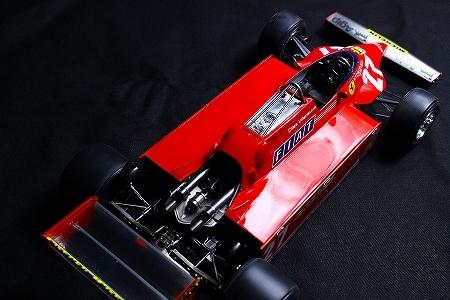★ MFH 1/12 フェラーリ 126CK.ジル・ヴィルヌーヴ  モナコGP 完成品 ★_画像8