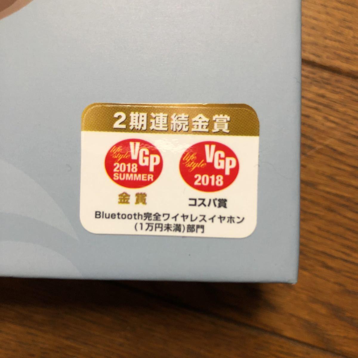 【新品未使用】ソフトバンク完全ワイヤレスイヤホン GLIDIC Sound Air TW-5000/シャンパンゴールド_画像5