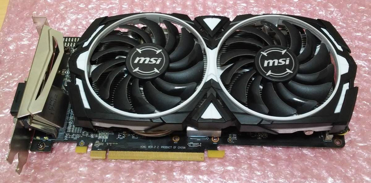 MSI Radeon RX470(RX580化) 4G ジャンク