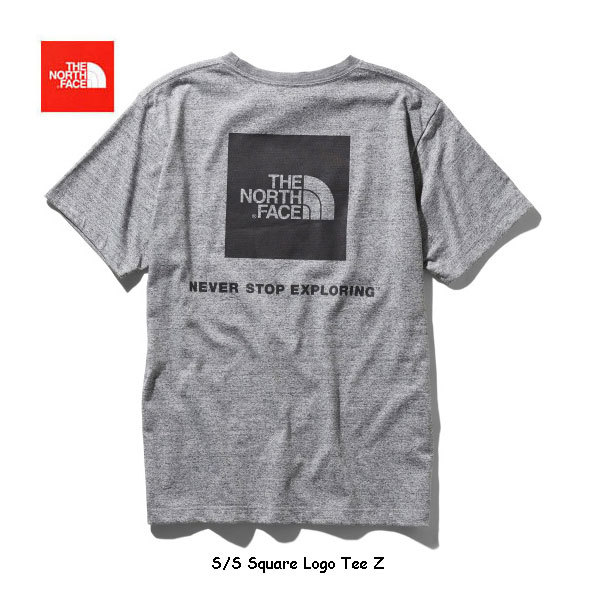 現品限り 新品 THE NORTH FACE ザ・ノース・フェイス ショートスリーブスクエアロゴティー(メンズ)NT31957 カラー/Z サイズ/L