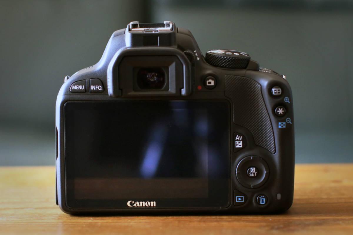 ●ショット数1200回~大変綺麗です●キャノン Canon EOS Kiss X7 ダブルズームキット EF-S18-55 F3.5-5.6 IS STMとEF-S55-250 F4-5.6 IS II_画像4