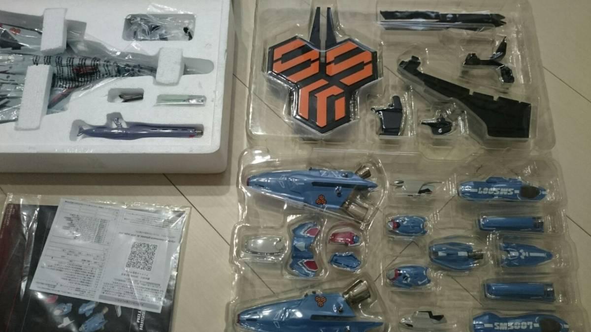 マクロスフロンティア VF-25F スーパーメサイアバルキリー(早乙女アルト機) DX超合金 バンダイ _画像6