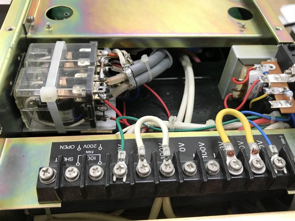 TOKYO Hy-Power HFリニアアンプ HL-2.1K 200V 1KW確認済み 美品_画像5