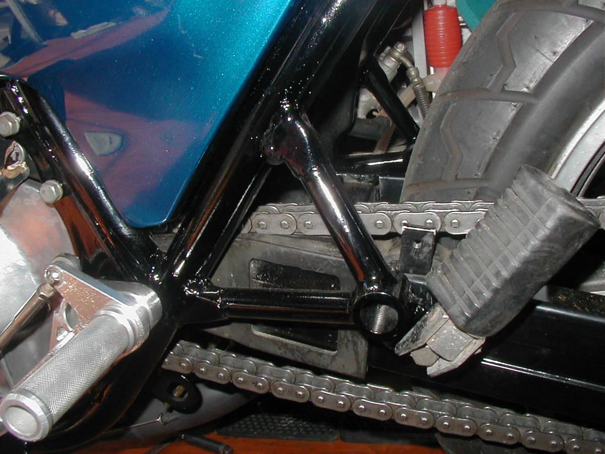 ★★Z750F-D1★750FX仕様画像2■初期希少貴重Z2Z750RSZ750FXKZ1000Mk.2A4A5D1モリワキモンスターKERKERカーカーKR_FX1用タンデムフレームに変更