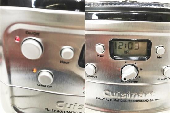 CF4893a 12-cup オートマチックコーヒーメーカー ミル・タイマー付き全自動 DGB-900PCJ2 2018年製_画像7