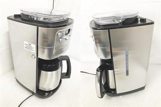 CF4893a 12-cup オートマチックコーヒーメーカー ミル・タイマー付き全自動 DGB-900PCJ2 2018年製_画像8