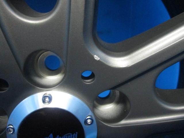 在庫処分 アドバンティレーシング ヴィゴロッソ N931 8J +45 5H 100 マットチタニウム クムホ 225/35R19 プリウス ウィッシュZ 86 BRZ _画像6
