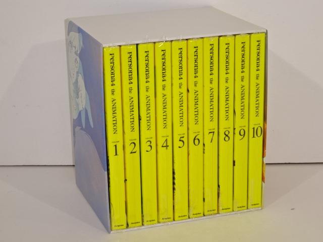 05YB☆ペルソナ4 the ANIMATION DVD 全10巻セット 収納BOX付 中古