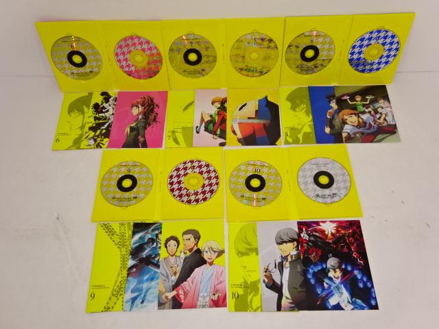 05YB☆ペルソナ4 the ANIMATION DVD 全10巻セット 収納BOX付 中古_画像8