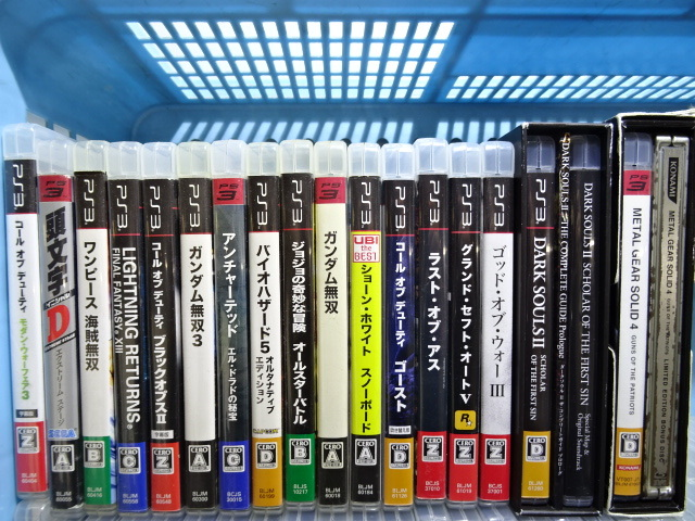 22JM☆PlayStation3 PlayStation2 プレステ3 プレステ2 ゲームソフト まとめて ジャンク_画像2