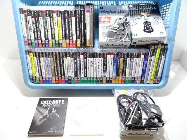 22JM☆PlayStation3 PlayStation2 プレステ3 プレステ2 ゲームソフト まとめて ジャンク