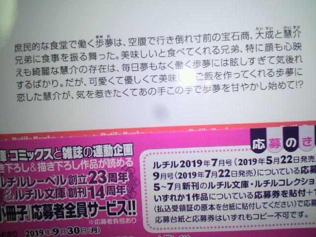 最新刊☆ 宝石紳士と甘い初恋始めました 金坂理衣子 駒城ミチヲ SS小冊子 特典 応募券_画像2