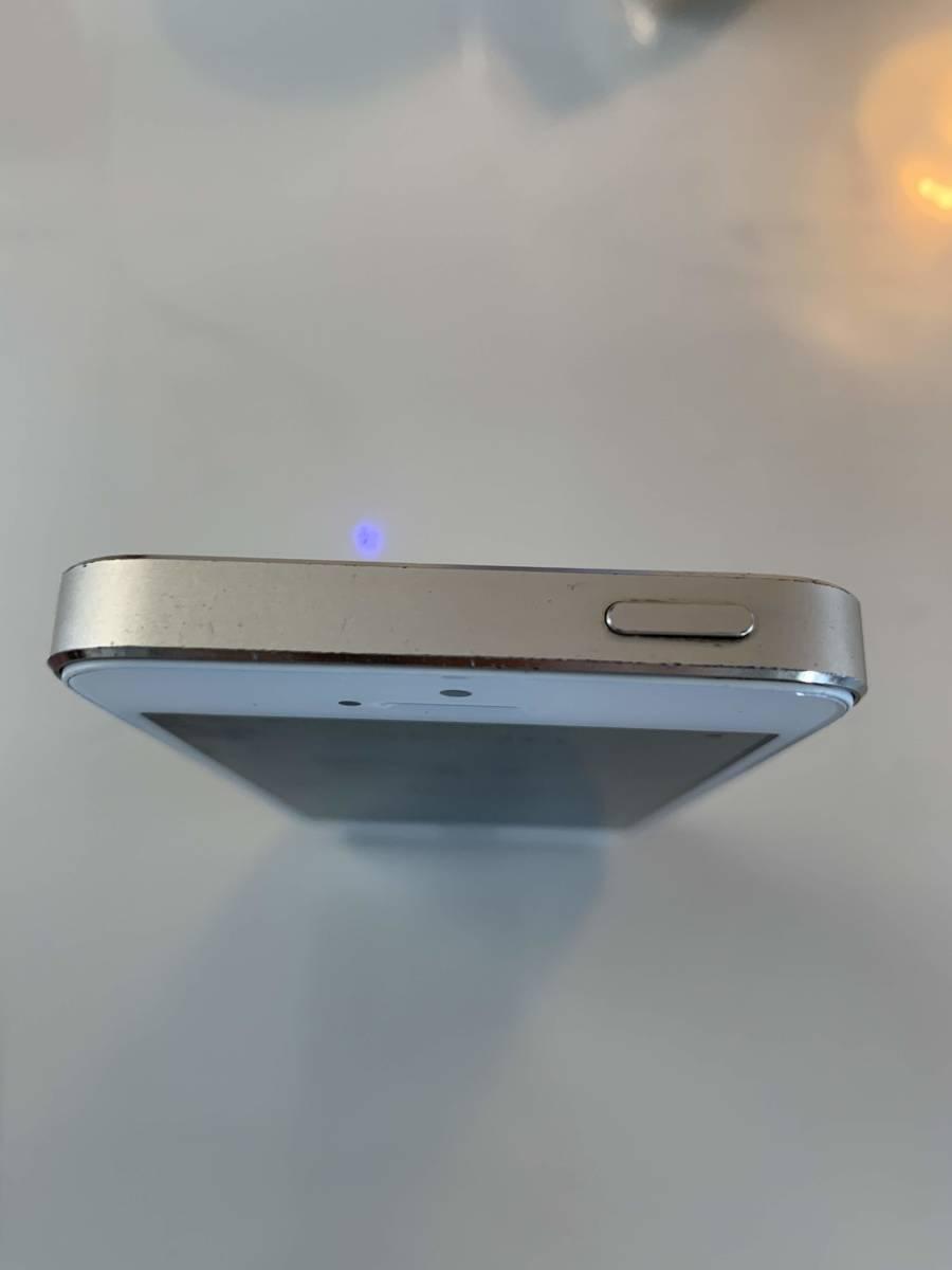 【1円スタート】 Apple iPhone5s 32GB docomo ゴールド【バッテリー新品】_画像6