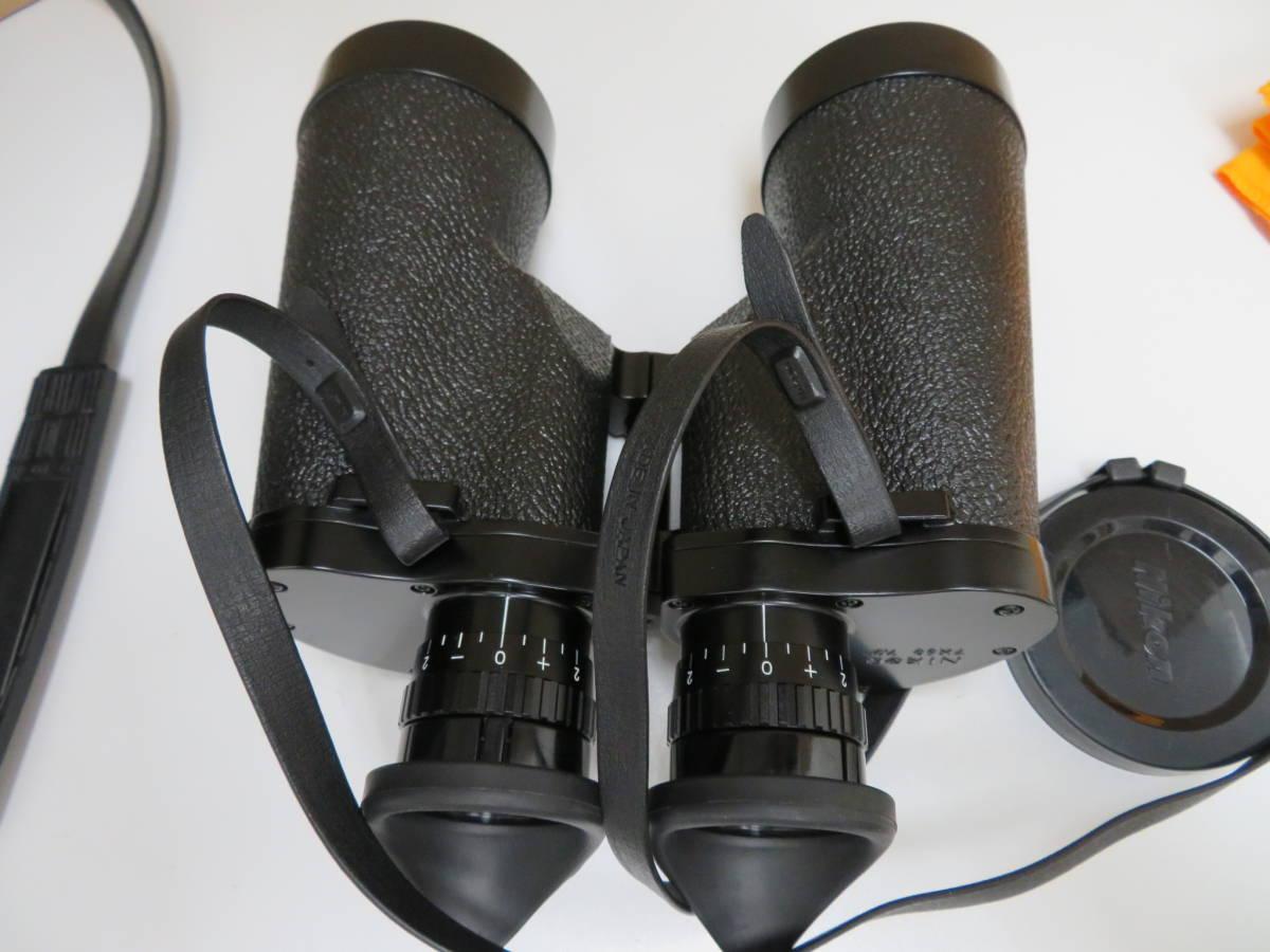 Nikon ニコン 双眼鏡 T IF HP 7×50 7.3° ポロプリズム ケース アイカップ_画像6