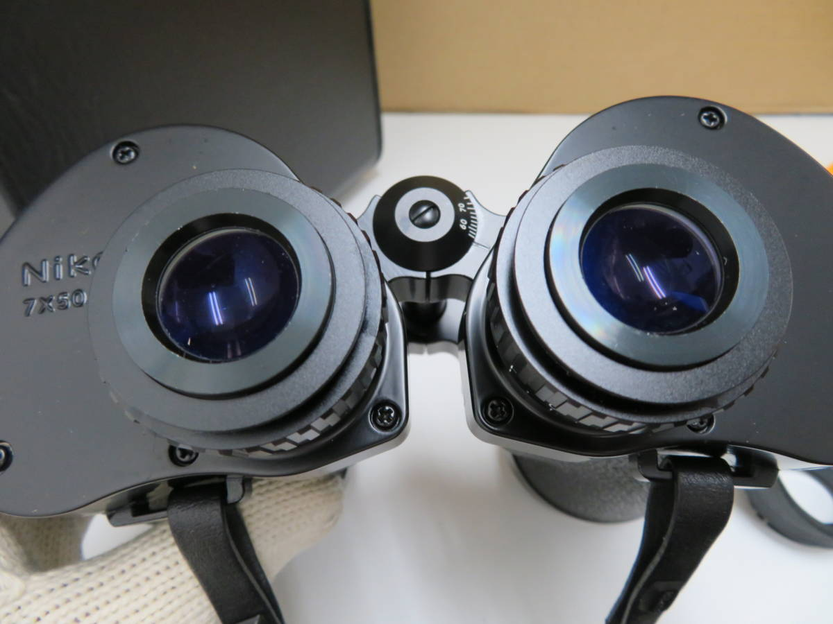 Nikon ニコン 双眼鏡 T IF HP 7×50 7.3° ポロプリズム ケース アイカップ_画像10