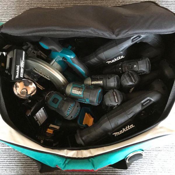 マキタ 純正 ツールバッグ 大容量 ショルダーベルト付き_画像5