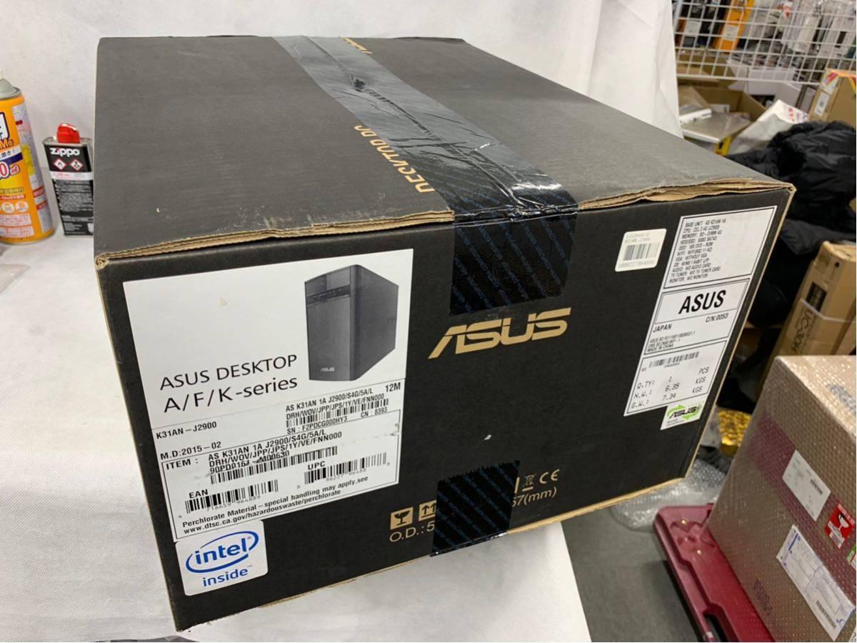 新品 ASUS デスクトップ K31AN (WIN8.1 64Bit / Intel J2900 / 4GB / 500GB / DVD-ROM ドライブ / ブラック) K31AN-J2900_画像6