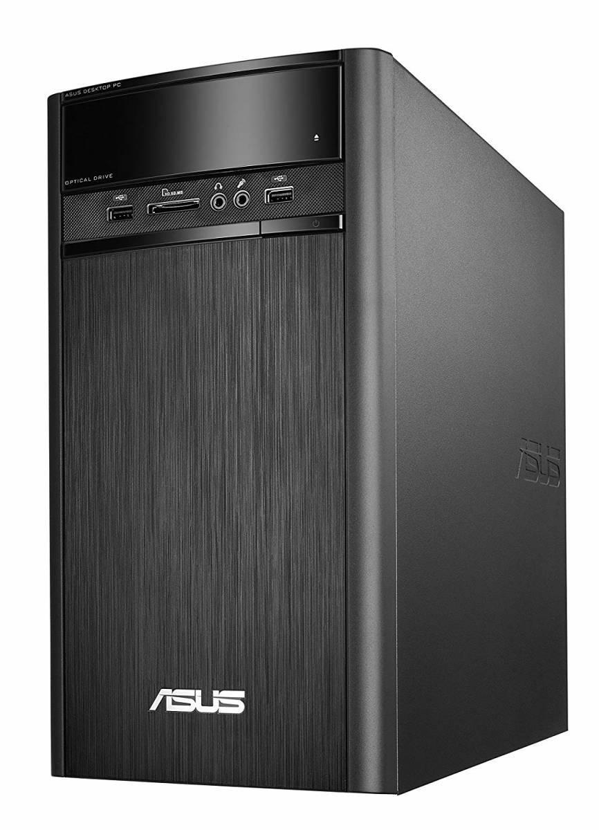新品 ASUS デスクトップ K31AN (WIN8.1 64Bit / Intel J2900 / 4GB / 500GB / DVD-ROM ドライブ / ブラック) K31AN-J2900_画像2