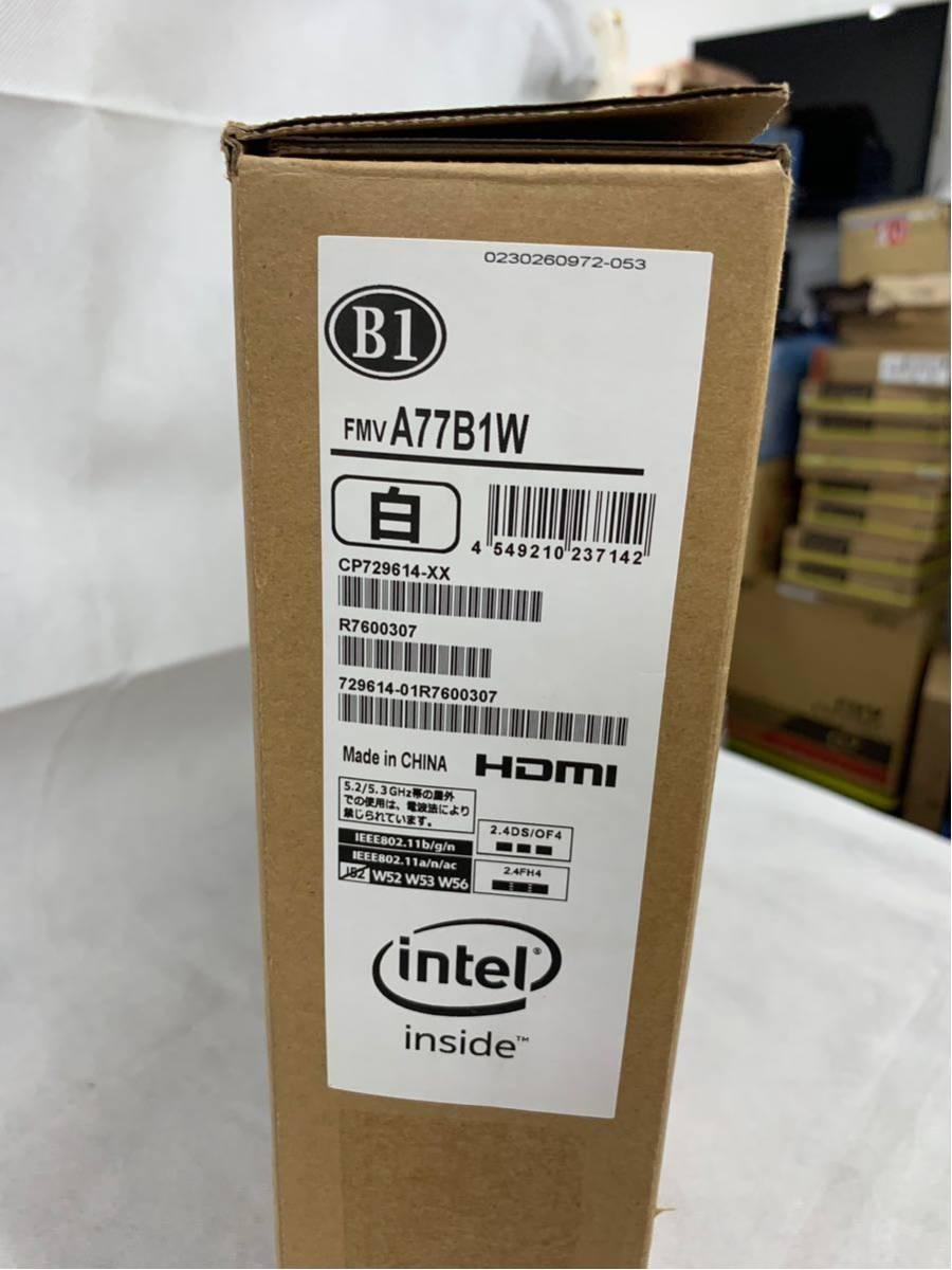 【展示品】富士通(FUJITSU) FMV LIFEBOOK FMVA77B1W Core i7 7700HQ/HDD:1TB/8GB/Bluetooth/ブルーレ/15.6 インチ/Windows 10①_画像10