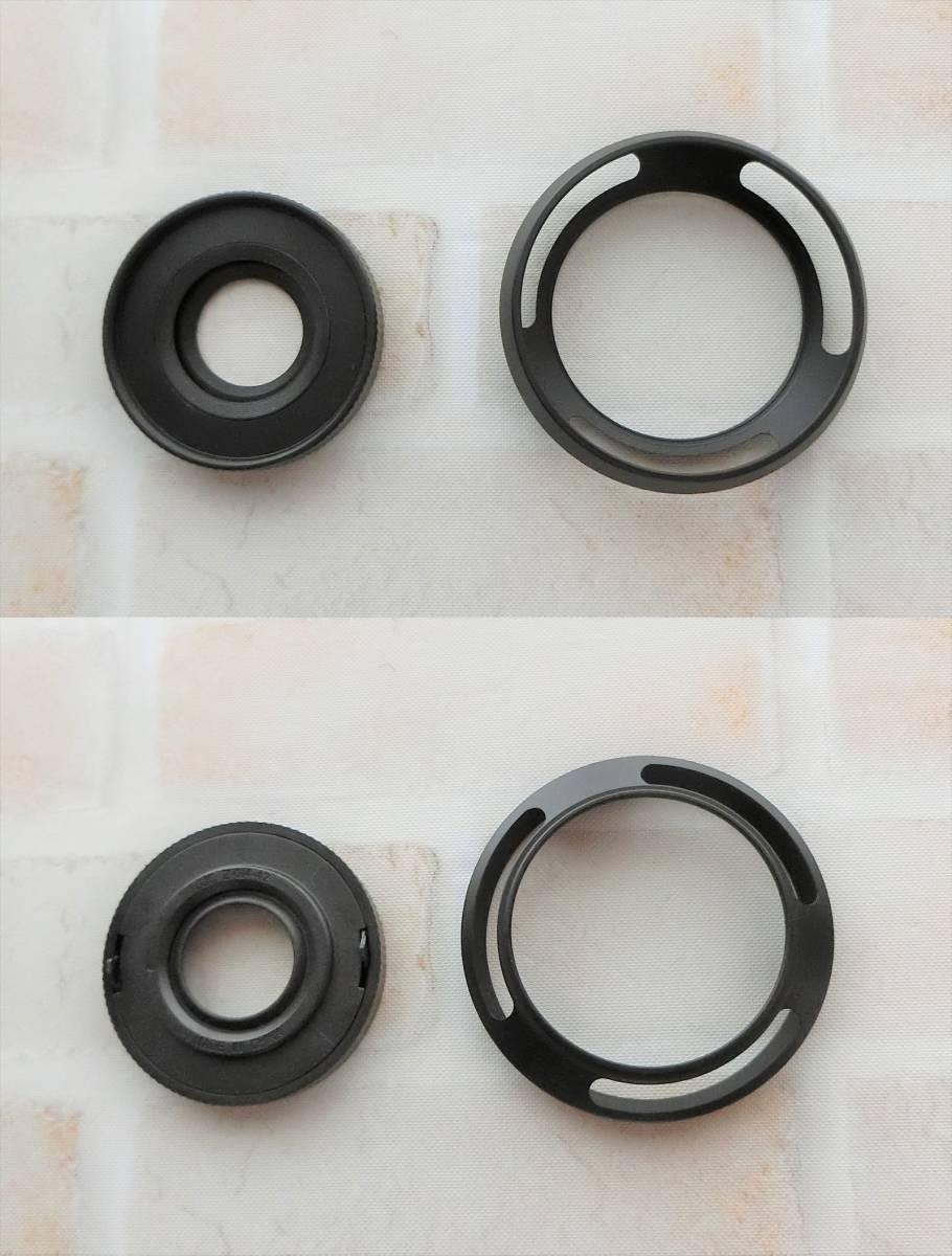 【新品/送料185円】OLYMPAS 黒 フード付き 自動開閉式レンズキャップ LC-37C-20 オリンパス E-M10 E-M5 E-M1 レンズ キャップ ブラック JJC_画像9