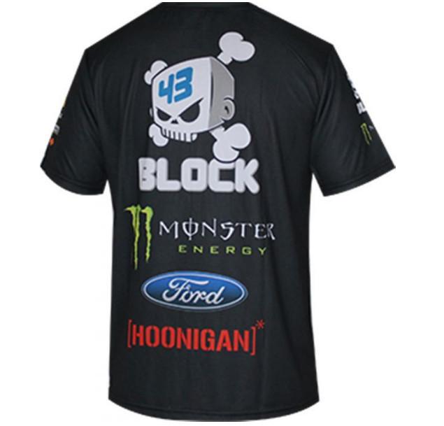 MOTO GP モンスターエナジー ロッシ オフロード 半袖Tシャツ吸汗、速乾、通気 B #Etk_画像2