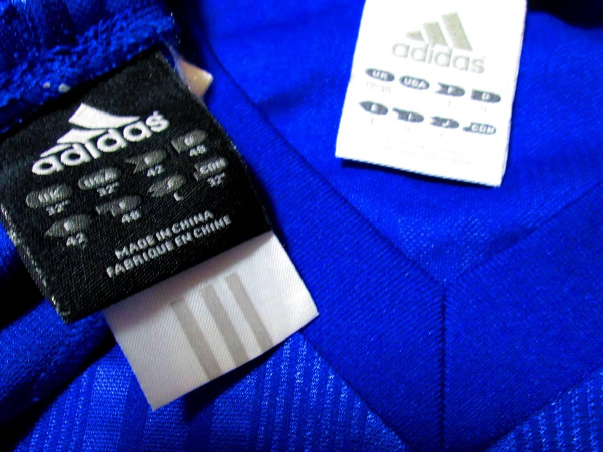 アディダス SHADOW プラシャツ上下セット サイズL トリコロール 定番 nike fc puma adidas nftb fcrb_画像2