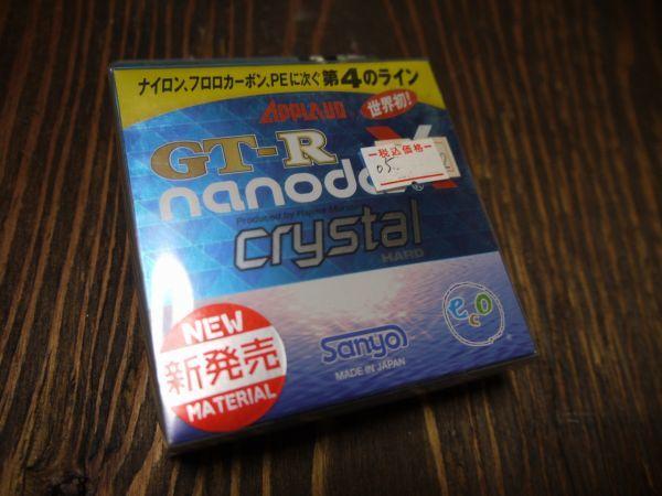 新品即決 送料140円 サンヨーナイロン APPLAUD GT-R nanodaX ナノダックス Crystal Hard 3号12lb 100m(05)