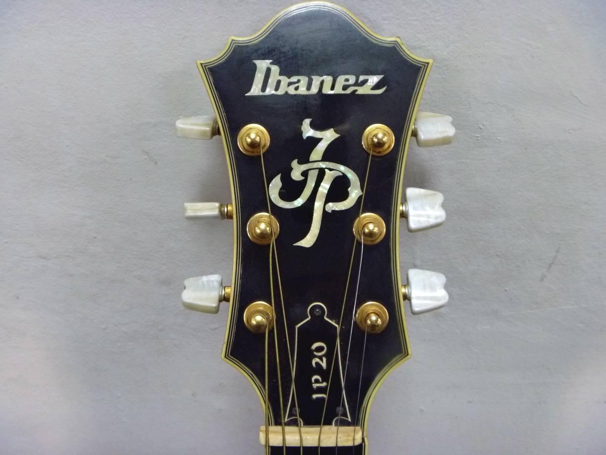 IBANEZ/アイバニーズ フルアコースティックギター JP20 ジョーパスモデル フルアコ_画像5