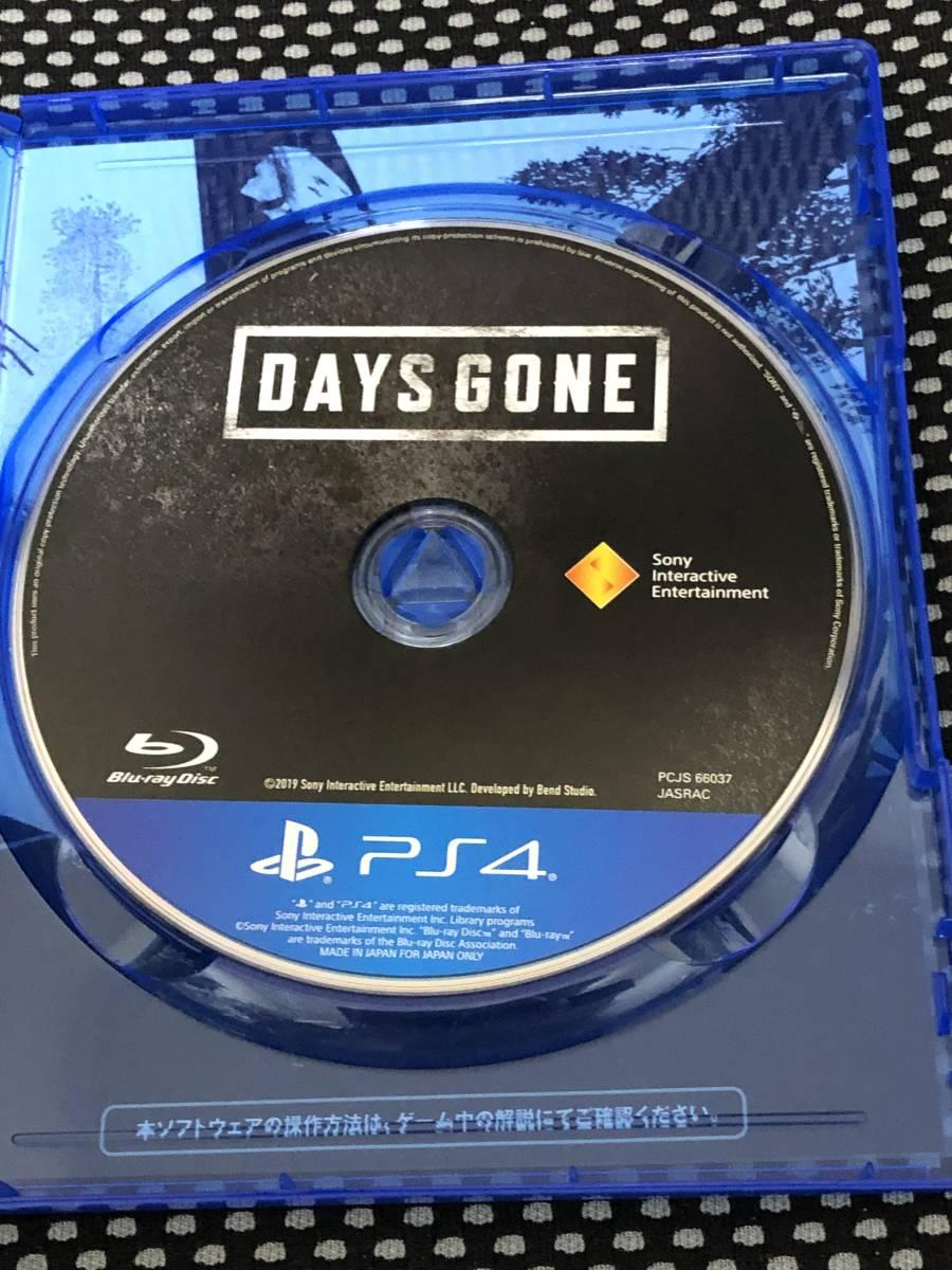 送料無料 PS4 Days Gone デイズゴーン 特典コード未使用 _画像2