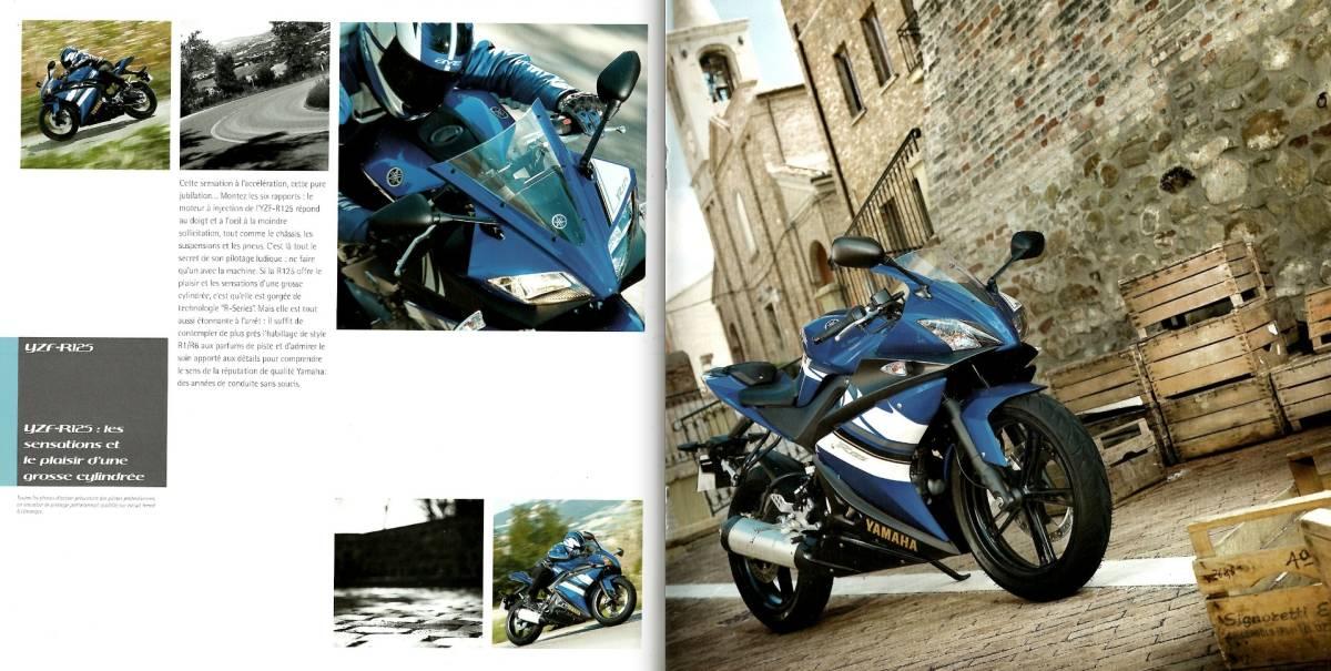 欧州版 ヤマハ 2008年 YZF-R125 カタログ。単品カタログはめったに出ないです。_画像3