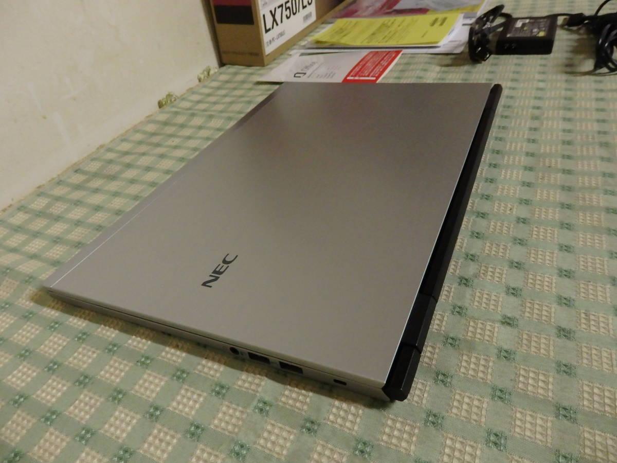 NEC LX750/L Win8 Core i7搭載 ノートPC ACアダプター/元箱付き ジャンク品/部品取り _画像2