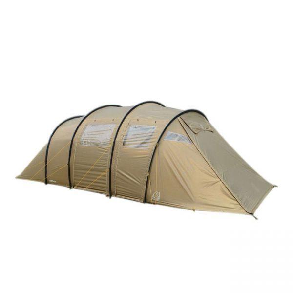 1円~ ノルディスク NORDISK Reisa 6 レイサ ツールーム型 ベージュ//6人用 キャンプ テント アウトドア