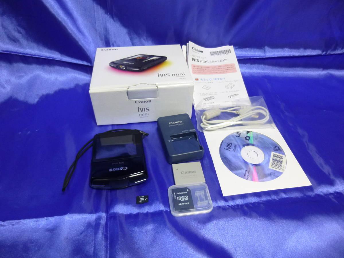 canon iVIS mini デジタルビデオカメラ 13年製 microSD16GB付