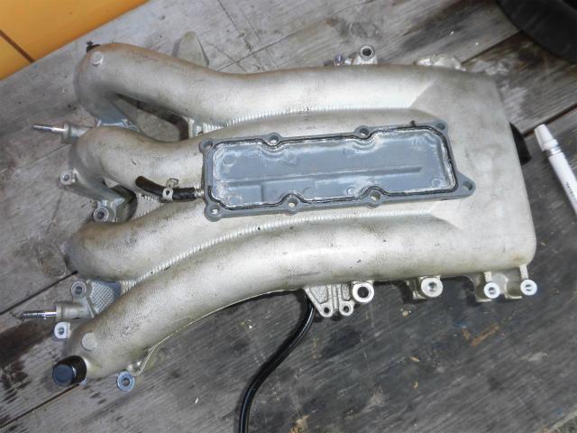 スズキ4サイクル DF140L インテークマニホールド カバーウオータージャケット_画像4