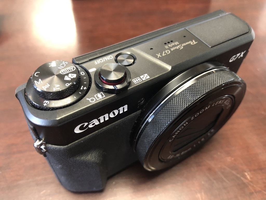 ★美品★Canon キャノン PowerShot G7X MarkⅡ パワーショット 付属品完品・保証書_画像2
