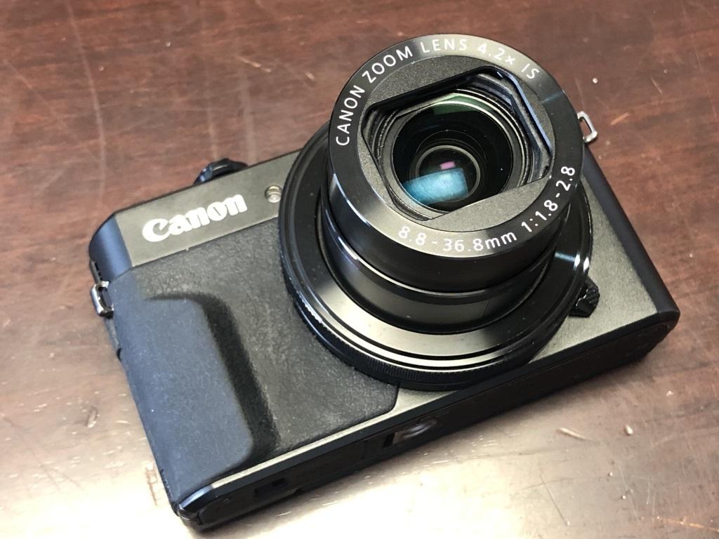 ★美品★Canon キャノン PowerShot G7X MarkⅡ パワーショット 付属品完品・保証書_画像4